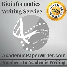 Bioinformatics Writing Service