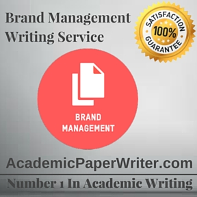 Brand Management Writing Service