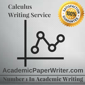 Calculus Writing Service
