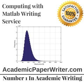 Computing with Matlab Writing Service