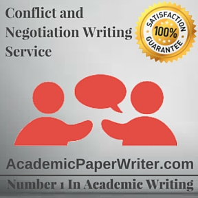 Conflict and Negotiation Writing Service