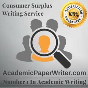 Consumer Surplus Writing Service