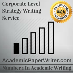 Corporate Level Strategy Writing Service