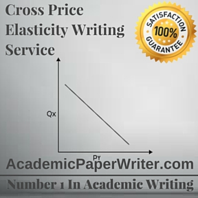 Cross Price Elasticity Writing Service