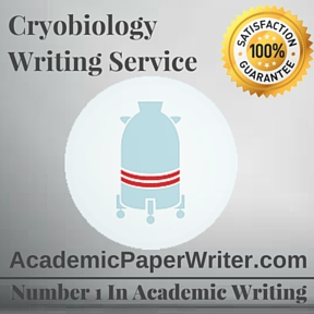 Cryobiology Writing Service