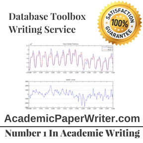 Writing service database