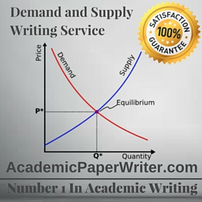 Demand and Supply Writing Service