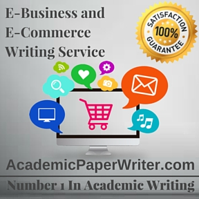 E-Business and E-Commerce Writing Service