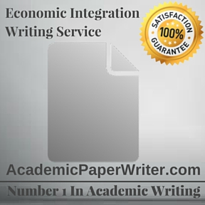 Economic Integration Writing Service
