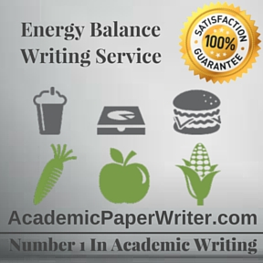 Energy Balance Writing Service