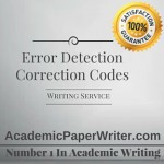Error Detection Correction Codes