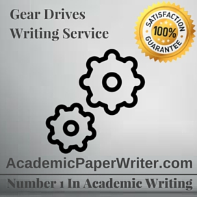 Gear Drives Writing Service