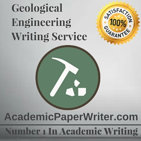 Geological Engineering Writing Service