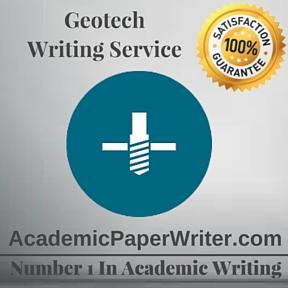 Geotech Writing Service