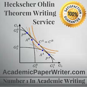 Heckscher Ohlin Theorem Writing Service