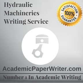Hydraulic Machineries Writing Service