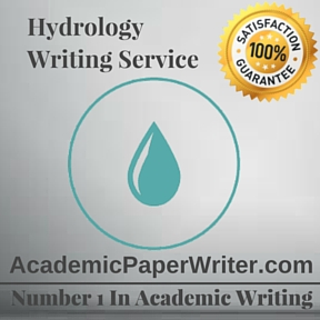 Hydrology Writing Service