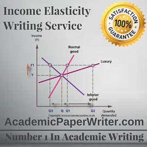 Income Elasticity Writing Service