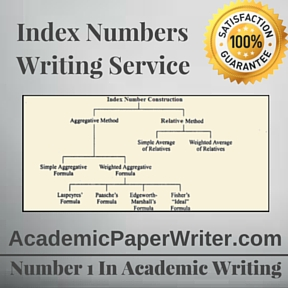 Index Numbers Writing Service