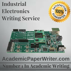 Industrial Electronics Writing Service