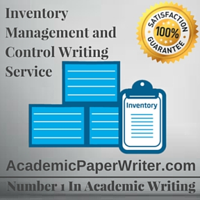 Inventory Management and Control Writing Service