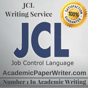 JCL Writing Service