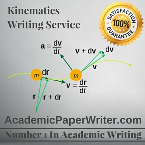 Kinematics Writing Service