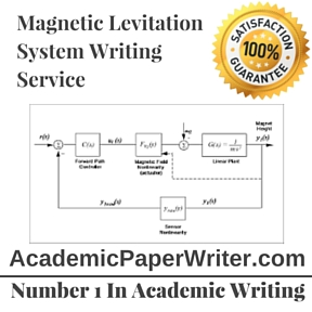 Magnetic Levitation System Writing Service