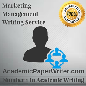 Marketing Management Writing Service