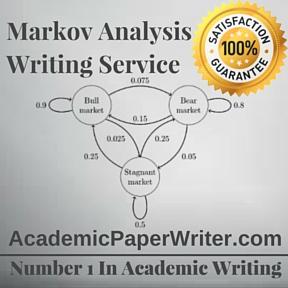 Markov Analysis Writing Service