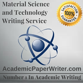 Material Science and Technology Writing Service