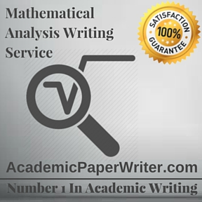 Mathematical Analysis Writing Service