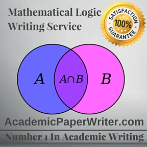 Mathematical logic Writing Service