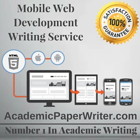 Mobile Web Development Writing Service