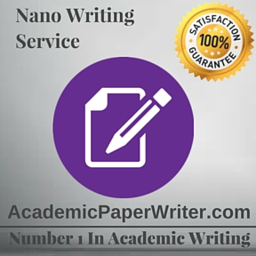 Nano Writing Service