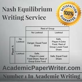 Nash Equilibrium Writing Service