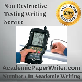 Non Destructive Testing Writing Service