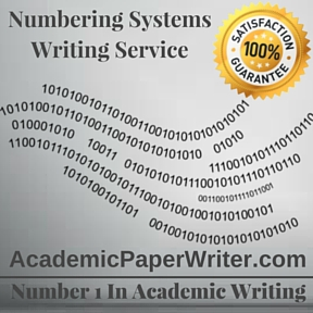 Numbering Systems Writing Service