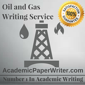 Oil and Gas Writing Service