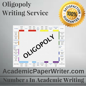monopoly and oligopoly essay essay We have put together a team of expert essay writers who are highly competent in effective academic writing back to homepage perfect competition, monopoly, or oligopoly perfect competition, monopoly, or oligopoly.