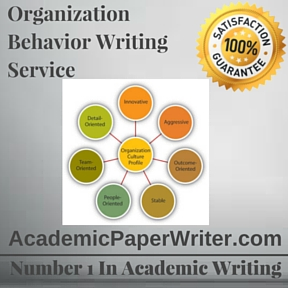 Organization Behavior Writing Service