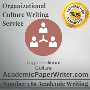 Organizational culture Writing Service