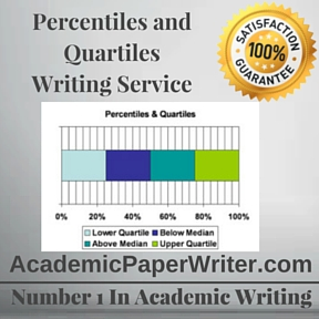 Percentiles and Quartiles Writing Service