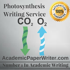Photosynthesis Writing Service