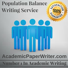Population Balance Writing Service