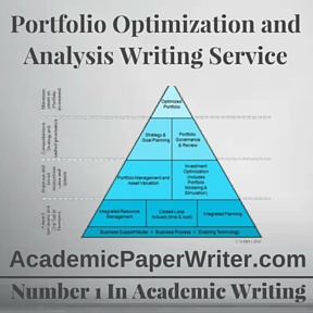 Portfolio Optimization and Analysis Writing Service