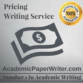 Pricing Writing Service