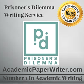 Prisoner's Dilemma Writing Service