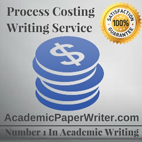 Process Costing Writing Service