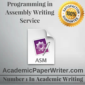 Programming in Assembly Writing Service